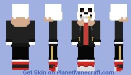 Sans - UnderFell Minecraft Skin