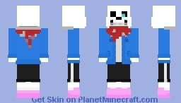 Sans - UnderTale (Genocide Route) Minecraft Skin