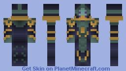 Zaros Minecraft Skin