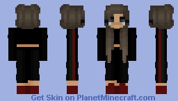 Red Minecraft Skin