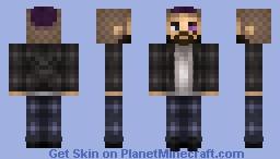 The Biker Minecraft Skin