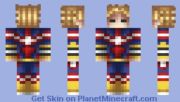 My Hero Academia - All Might Minecraft Skin