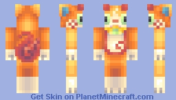 Jibakoma Minecraft Skin