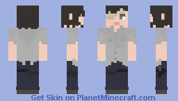 Carl Grimes | The Walking Dead | 7x01 Minecraft