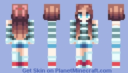If Only ~ Catligraphy // REMAKE Minecraft Skin