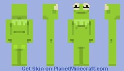 Frog-O Minecraft Skin
