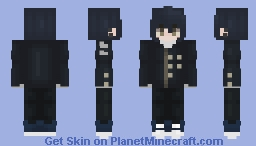The best detective around ~galaxx Minecraft Skin