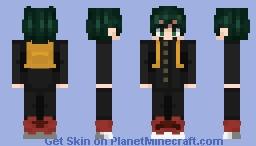 (ノಠ益ಠ)ノ彡DEKU Minecraft Skin