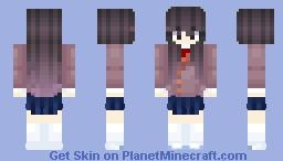 Doki Doki Literature Club - Yuri Minecraft Skin