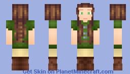 Medieval Girl! Minecraft Skin