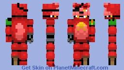 Rockstar Foxy - FFPS Minecraft Skin