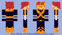 MHA-Endeavor Minecraft Skin