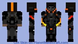Phantom Obsidian Minecraft Skin