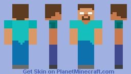Herobrine (Plastic Texture Pack) Minecraft Skin