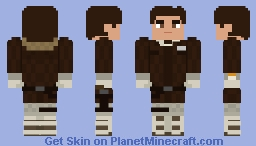 Han Solo ( Hoth ) - The Empire Strikes Back Minecraft