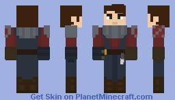 Anakin Skywalker (Season 1) - Clone Wars Minecraft Skin