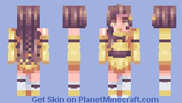 Magical Girl Chabilulu! - fanskin Minecraft Skin