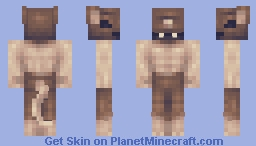 Failed experiment #1011 (Collab skin contest with DinowCookie) Minecraft Skin