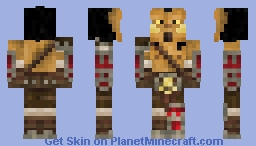 Grommash Hellscream - WoM #11 Minecraft Skin