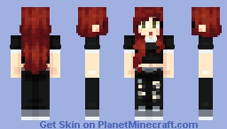 Cutie with a Booti v2 Minecraft Skin