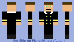 Ship Officer Minecraft Skin