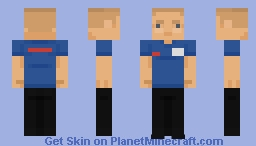 Fredmeyer Night Shift 'Stock-Team' Member Minecraft Skin