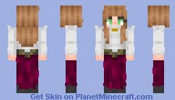 Victorian Girl Minecraft Skin