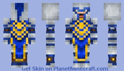 Alliance Soldier - WoM #17 Minecraft Skin