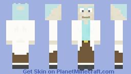 Rick Sanchez Minecraft Skin