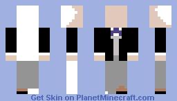 unfinished Minecraft Skin