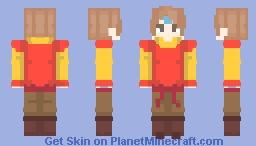 Airbender skin | Avatar Minecraft Skin
