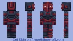 Red Knight (Fortnite) Minecraft Skin