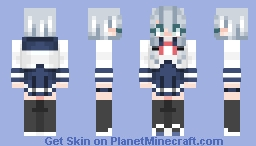 School Uniform Miku Minecraft Skin