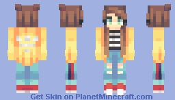 cant let go Minecraft Skin