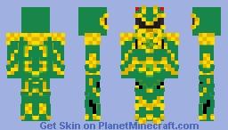 Movie Dragon Ranger(custom) Minecraft Skin