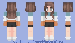 For Tyria - Color Blocks Minecraft Skin