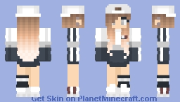 Cute Aesthetic girl Minecraft Skin