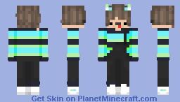 ANgel boy Minecraft Skin