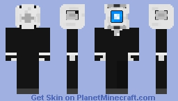 wheatley Minecraft Skin