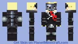 Persona 5 -Skull Minecraft Skin