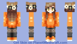 Lovely ~ Catligraphy // POPREEL Minecraft Skin