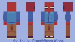 spiderman Minecraft Skin