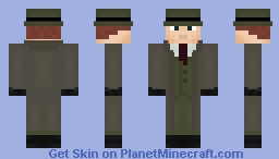 Vic Sage (DCAU) The Question Minecraft Skin