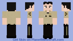 Shane Walsh | The Walking Dead | 1x01 Minecraft Skin