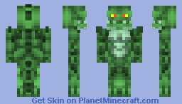 Bat Man _ Unlimited Killer Croc Minecraft Skin