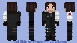 Civil War- Bucky Barnes Minecraft Skin