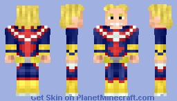 All Might/Toshinori Yagi - My Hero Academia (Alts in Desc.) Minecraft Skin