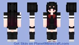 "Aya  Asagiri ""Mahou Shoujo Site"" Minecraft Skin"