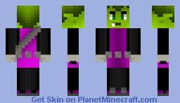 Beast Boy [Teen Titans] Minecraft Skin
