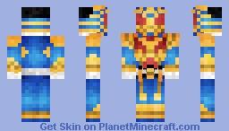 Kamen Rider Beast Hyper 仮面ライダービーストビーストハイパー Minecraft Skin
